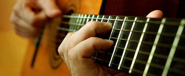 Classical Guitar Strings by Augustie, Savarez, and other brands.