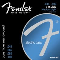 Fender F7150 Pure Nickel Wound Original Bass Strings