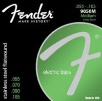 Fender Jazz 9050 Stainless Steel Flat Wound Bass Strings