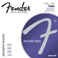 Fender F7060 Phosphor Bronze Acoustic Bass Guitar Strings