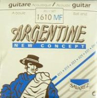 Savarez 1610MF 11-46 Argentine Ball End Gypsy Jazz Guitar Strings