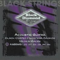 Phosphor Bronze 13-56 Acoustic BLACK Guitar Strings