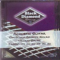 Black Diamond N600M 13-56 Phos Brnz Acoustic Guitar Strings