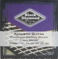 Black Diamond 12-53 Phosphor Bronze Acoustic Guitar Strings