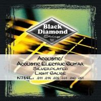 11-51 Silver Plated Acoustic Electric Guitar Strings
