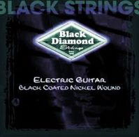 9-42 Nickel Electric BLACK Guitar Strings