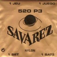 Savarez 520P3 High Tension Classical Guitar Strings