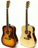 Crestwood 2010EQ Acoustic Electric Dreadnaught Guitars