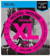 D'Addario EXL150 Regular Light Electric 12-String 10-46