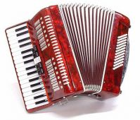 Parrot T5004 72 Bass Piano Accordion
