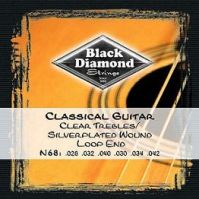 Black Diamond Standard Classical Guitar Strings