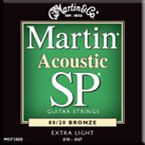 Martin MSP-3100 Light  Bronze Acoustic Guitar Strings