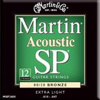 Martin MSP-3600 Extra Light 12-String Acoustic Guitar Strings