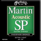 Martin MSP-4100 Light Phosphor Bronze Acoustic Guitar Strings