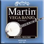 Vega 5-String Nickel Wound Medium Banjo Strings