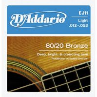 EJ11 Bronze Light 12-53 Acoustic Guitar Strings