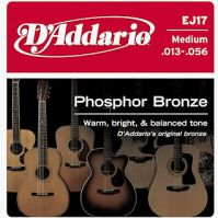 D'Addario EJ17 Phosphor Bronze 13-56 Acoustic Guitar Strings