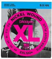 D'Addario EXL120+ Super Light 9.5-44 Electric Guitar Strings