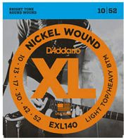 D'Addario EXL140 10-52 Nickel Electric Guitar Strings