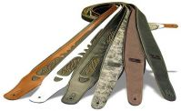 Memphis Western Style Leather Guitar Strap