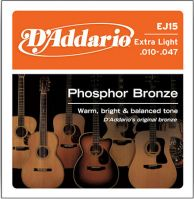 EJ15 Phosphor Bronze 10-47 Acoustic Guitar Strings