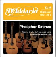 EJ19 Phosphor Bronze Bluegrass 12-56 Acoustic Guitar Strings