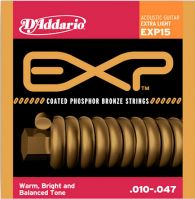 D'Addario EXP15 Phos Bronze 10-47 Acoustic Guitar Strings