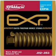 EXP16 Phosphor Bronze 12-53 Acoustic Guitar Strings