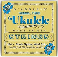 D'Addario J54 Hawaiian Tenor Ukulele Strings
