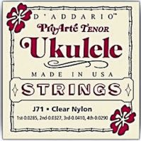 D'Addario J71 Tenor Ukulele Strings