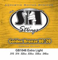 SIT 1048 Golden Bronze Acoustic Guitar Strings