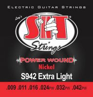 SIT 9-42 Power Wound Nickel Electric Guitar Strings